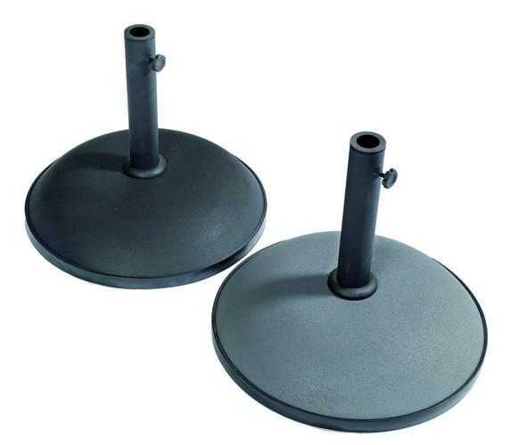 Brage parasollfot 15/35/50 kg, svart